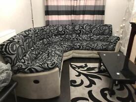 Beautiful corner recliner sofa!
