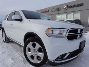 2015 Dodge Durango Limited--Heated Seats & Wheel-High River Albe