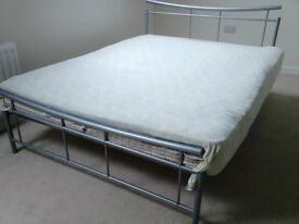 Double bed with or without mattress