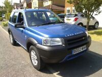 LANDROVER FREELANDER 5 DOORS MOT NOVEMBER LOW MILEAGE IMMACULATE 4 WHEEL DRIVE