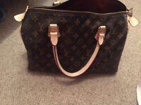 Louis Vuitton Speedy style bag