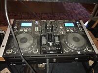 Gemini CD player mixer