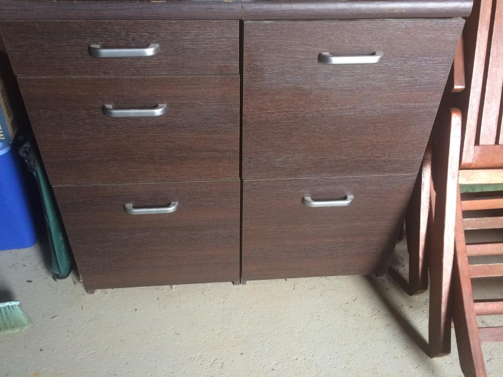Filing cabinet and draws