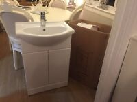 Brand new vanity basin