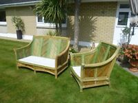 Solid Rattan Conservatory Furniture for sale