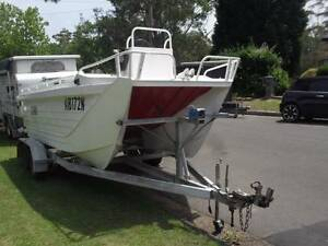 5 Mtr Webster Twin fisher with 115 HP 4 Stroke Suzuki outboard Terrey Hills Warringah Area Preview