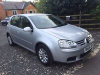 VW GOLF 1.9 TDi MATCH 5 DOOR 2008 100,000 MILES VERY CLEAN