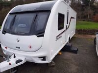 Swift challenger top of the range cruach 580 2016, Like New, Awning and load of extras