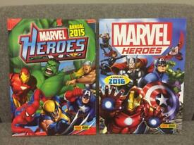 Marvel Heroes Annuals 2015 2016 Hulk Spider-Man Iron Man Captain America Thor SDHC