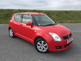 EXTREMELY LOW MILEAGE 2008 SUZUKI SWIFT 1.4 5 DOOR WITH FULL SERVICE HISTORY AND LONG MOT!