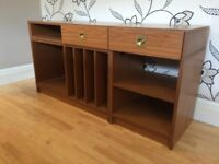 EXTENDING STORAGE UNIT/SIDEBOARD WITH TWO DRAWERS