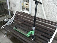 MGP SCOOTER......GREEN....USED...READY TO RIDE £20 NO OFFERS