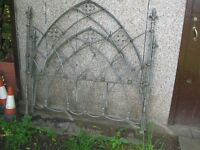 Antique Wrought Iron Bed.