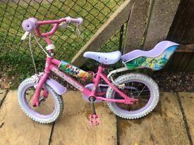 Girls bike 14 inches
