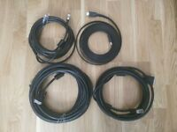 HDMI AND DVI CABLES
