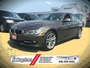 2013 BMW 335i xDRIVE - AWD, 3.0L TURBO I-6 w/ LEATHER INT, HEATE