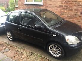 Toyota Yaris 1.3 sr vvti lovely little car reduced due to needing space on the drive