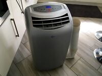 Air Force 12000BTU Portable Air Conditioner/Dehumidifier/Fan/Heater Hose (4in1) All Year Round Use