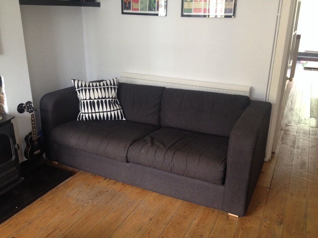habitat porto sofa sofa bed great condition charcoal in new malden london gumtree. Black Bedroom Furniture Sets. Home Design Ideas