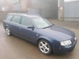 2004 AUDI A6 2.5 TDI V6 FINAL EDITION 165 BHP BLUE 5 DOOR ESTATE