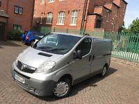 Vauxhall vivaro panel van 09 plate 218k 12 months mot 4 brand new tyres drives perfect very clean!
