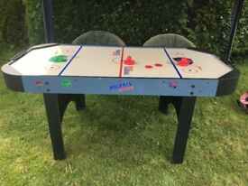 Power Puck Air Hockey Table