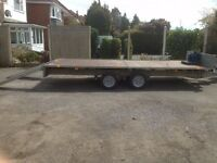IFOR WILLIAMS 3.5T CAR/PLANT TRAILER