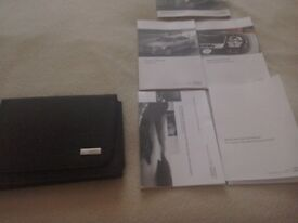 Audi a4 handbook inc wallet