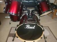 Pear vision birch drums