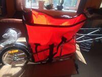 Bicycle trailer cargo trailer