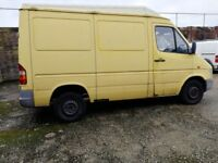 Mercedes Sprinter 208D Spares/Repair/Expory/Fix n go