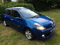 Renault Clio, 1.5dci, 5dr, full service history, MOT until 24th March, excellent mpg