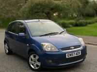 2007(57)Ford Fiesta 1.4 Zetec Climate 2 Keys Miles Cheap Insurance +Not Audi Vw Seat