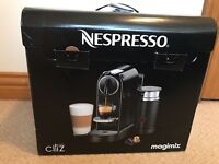 Brand new boxed Nespresso Citiz and Milk Coffee Machine in Black