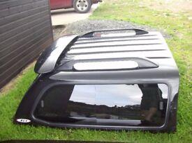 Mitsubishi L200 Black Canopy Hard Top Rear Cab For 1996-2005 Model £130 ono