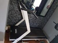 Trim up treadmill