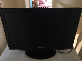 """Akura 24"""" tv with built in free view and remote"""