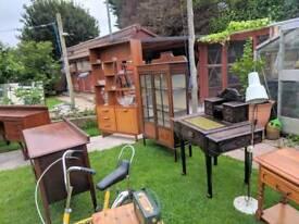 Lots for sale, table, chairs, antiques, oak, bikes, vintage, retro