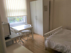 017O – FULHAM - DOUBLE STUDIO FLAT, FURNISHED, ALL BILLS INCLUDED, SINGLE PERSON ONLY- £210 WEEK