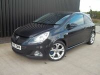 2009 Vauxhall Corsa 1.6 i Turbo 16v VXR 3dr 2 Keys Finance Available May Px