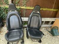 Abarth Leather Seats & Door Cards