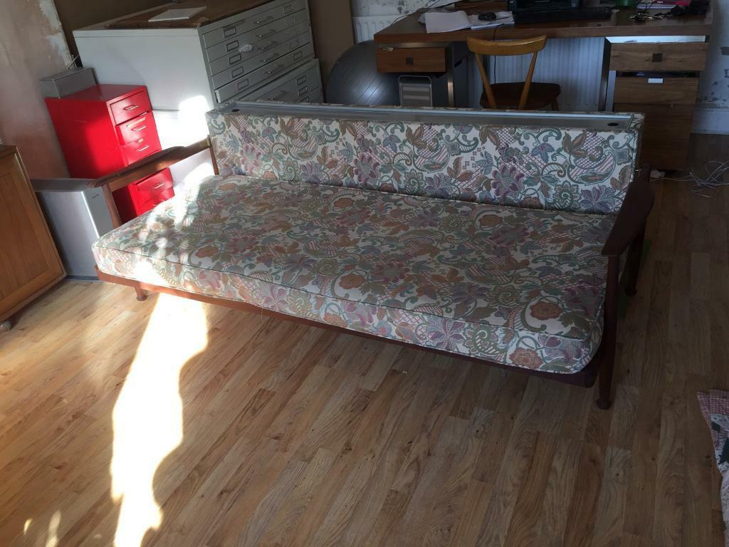 Guy Rodgers Manhattan Sofa Bed 1960 s Heals Retro mid
