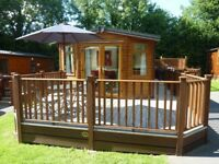 HOLIDAY LODGE IN DEVON WITH OWN PRIVATE HOT TUB