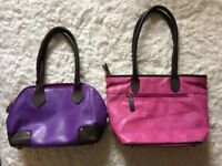 2 Soft Leather Guild Scotland hand/shoulder bags