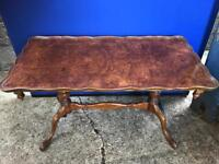 Pie crust edge vintage table with FREE DELIVERY PLYMOUTH AREA
