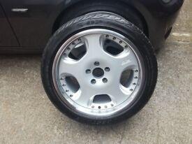 Jaguar XKR Arden rear 19', OZ Opera with tyre 285 35 19 x1