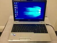 Toshiba satellite HD 4GB Ram Fast Laptop 250GB,Window10,Microsoft office,Ready,Excellent condition