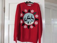 Christmas or Winter Jumpers Large and Medium