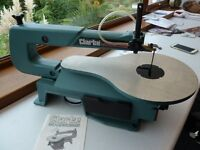 Variable speed scroll saw - Clarke Model CSS16V