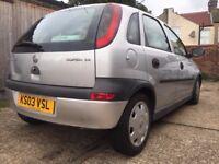 Vauxhall Corsa Elegance 16V Auto 1.4 2003 SPARES & REPAIRS